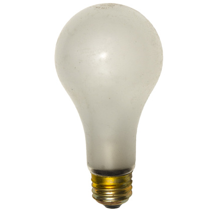 Incandescent Bulb, Shatter-Resistant, A21, 100W, 130V *** Discontinued ***