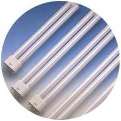 Compact Fluorescent Lamp, 4-Pin, Dulux L, 18W, 3500K
