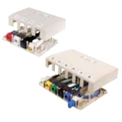 HOUSING, SURFACE MOUNT,4 PORT,OW