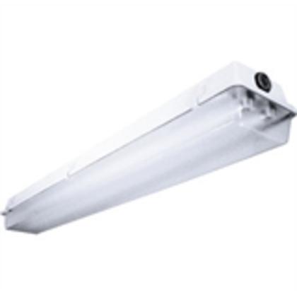 Vaportite Fixture, 32W, 120-277V, 2 Lamp, T8