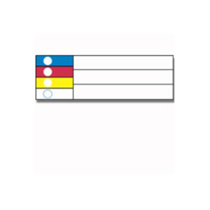 Label,GM,B595,3x1.125,Color Bar,300/RL