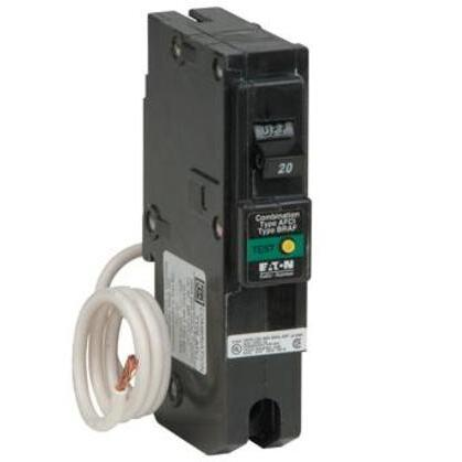 """Breaker, 15A, 1P, 120/240V, 10 kAIC, Type BR AFCI, 1"""" *** Discontinued ***"""