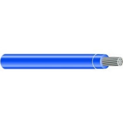 350 MCM THHN Stranded Aluminum, Blue, 500'