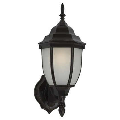 Lantern, Outdoor, 1-Light, 13W Max, Heirloom Bronze