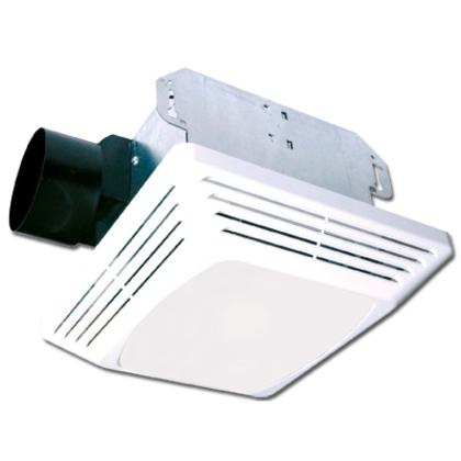 Ceiling Fan/Light, 70 CFM, CFL/Incandescent