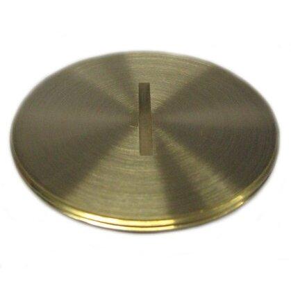 "Abandon Plug, Diameter: 2-1/4"", Brass"