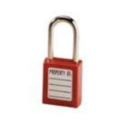 Safety Lockout Padlock, Red