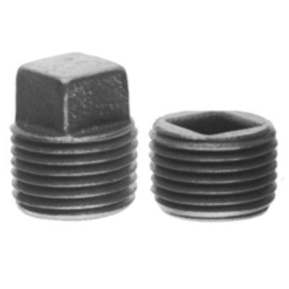 """Close-Up Plug, Recessed Head, 3-1/2"""", Explosionproof, Malleable"""