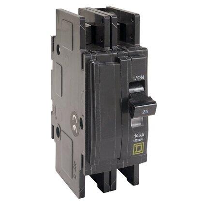 Breaker, Lug In/Ring Terminal Out, 2P, 40A, 120/240VAC, QO, 10kAIC