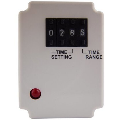 Relay, Timer, 10A, 240VAC, 24V AC/DC Coil, 8 Pin, 2PDT, On-Delay