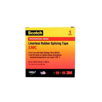 """Linerless Rubber Splicing Tape, 1"""" x 15'"""