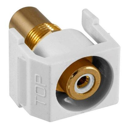 SNAP-FIT WH RCA/RCA RECESSED WH
