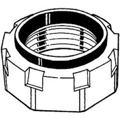 """Threaded Conduit Bushing, Insulated, Malleable, 3"""""""