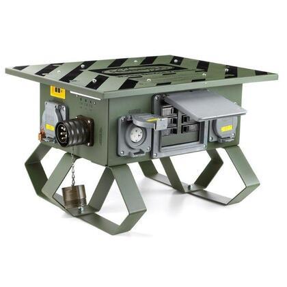 SPIDER II BOX, 60A 3PH 120/208V, LKG