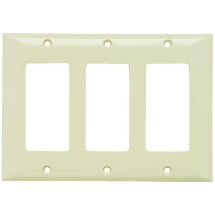 PLATE PLASTIC 3G 3SPLEX W/OUT LINE LA