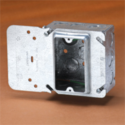 SINGLE GANG UNIMOUNT, 5/8-IN. RAISE, 4D BOX, STRANDED GRND WIRE