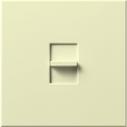 Dimmer, 1500W, Large Control, Almond