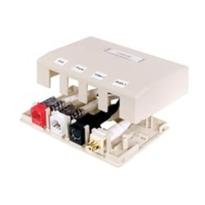 HOUSING, SURFACE MOUNT,6 PORT,OW