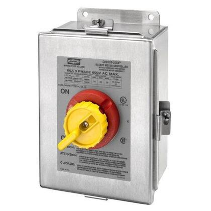 60A 600V 3P RTRY DISC SW 4X SS