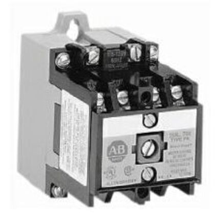 Relay, Heavy Duty, Industrial, DC Operated, 4P, 24VDC Coil