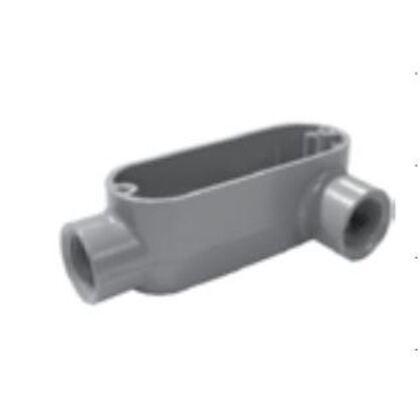 "Conduit Body, Type LL, 2"", Threaded, Aluminum"
