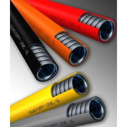 "Liquidtight Flexible Steel Conduit, Type UA, 1/2"", Blue, 50'"
