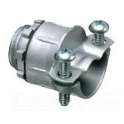 Flex Connector, 2-Screw, Straight, 1 Inch, Die Cast Zinc