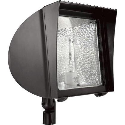 Flexflood 70w Mh Qt Hpf With Arm And Lamp Bronze