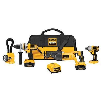 18V Cordless Tool Kit