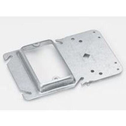 """Box Support/Cover Plate Mounting Bracket, 3/4"""" Raised, Steel"""