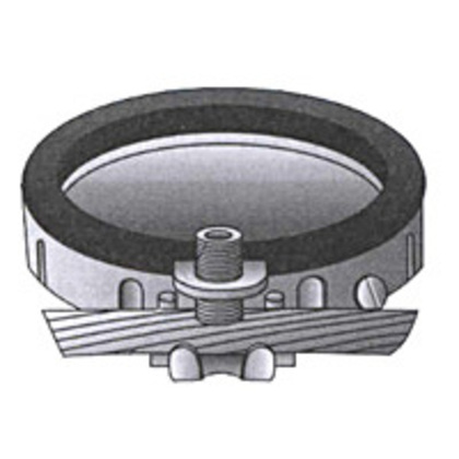 """Grounding Bushing, Insulated, Threadless, Size: 1-1/2"""", Malleable Iron"""