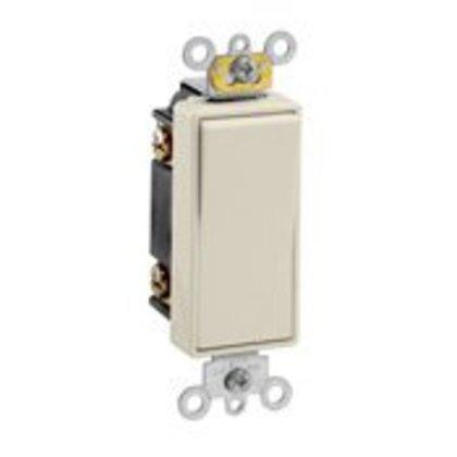 3-Way Decora Switch, 20A, 120/77V, Light Almond, Back/Side Wired