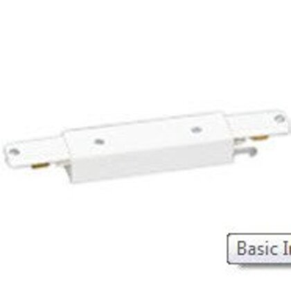 Basic In-Line Connector, White