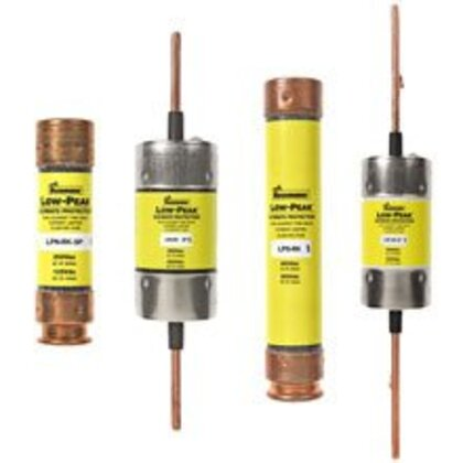 Fuse, 12 Amp Class RK1 Dual Element, Time-Delay, 250V, LOW-PEAK