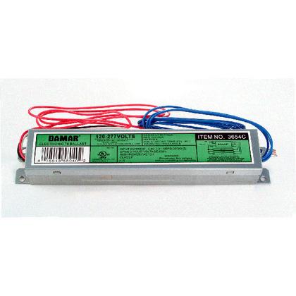 Electronic Ballast, Fluorescent, T8, 3-Lamp, 32W, 120-277V