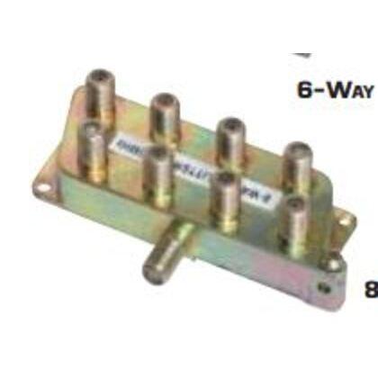Splitter, 8-Way, Video, 5 MHz - 900 MHz, Screw Mount