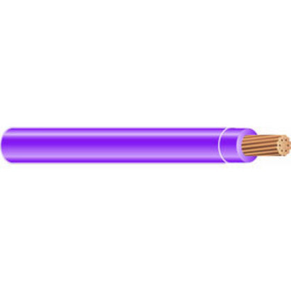 8 AWG XHHW Stranded Copper, Purple, 1000'