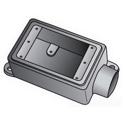 FS 1 GANG CAST BOX ALUM