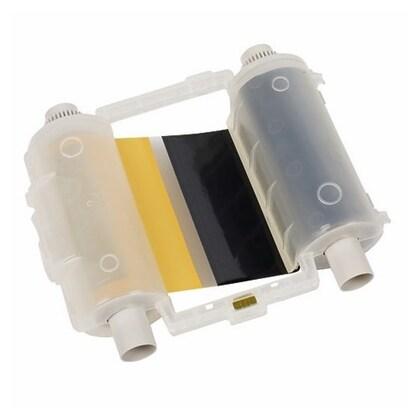 """R10000 Printer Ribbon, Black/Yellow, 4.11"""" Wide x 200' Long"""