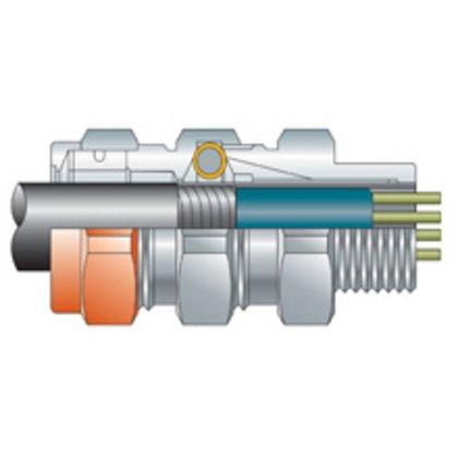 """TMCX Connector, 3/4"""", .60"""" - .850"""", Explosionproof, Aluminum"""