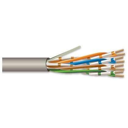 Category 5 Cable, Riser, 24 AWG - 4 Pair, Gray, 1000' Pull Box