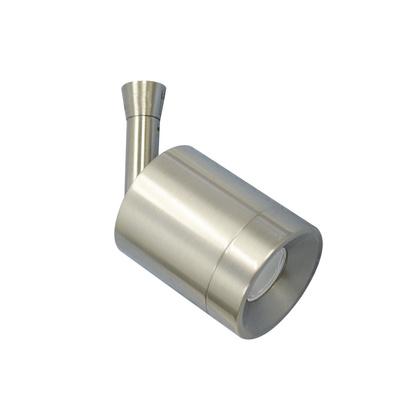 Track Head, LED, 3W, Brushed Nickel