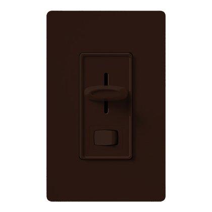 Fan/Light Control, Slide, 3-Speed, Brown