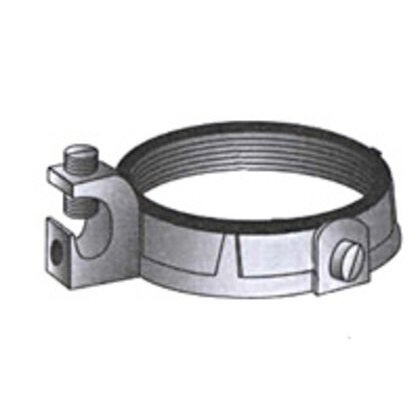 "Grounding Bushing, 1-1/4"", Threaded, Insulated, Malleable Iron"