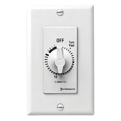 Timer Control, 125-277V, White