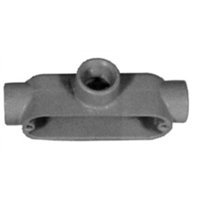 "Conduit Body, Type T, 3-1/2"", Form 7, Aluminum"