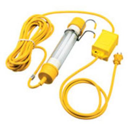 Handy Work Light, Compact Fluorescent, 13W, 120V