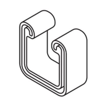 """PLASTIC END CAP  1 5/8"""" X 1 5/8"""" CHNL (B22, B24, B26)"""