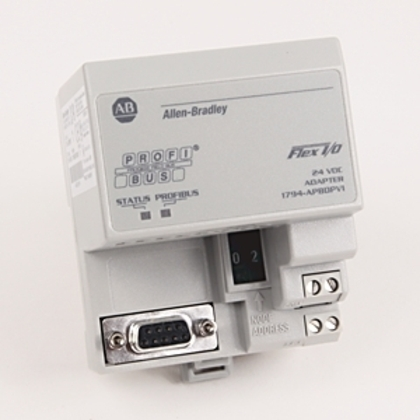 Communication Adapter, Flex I/O Remote to PROFIBUS, 12Mbps, 9.6W, 23A