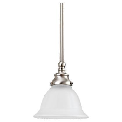 Mini-Pendant Light, 1 Light, 100W, Brushed Nickel *** Discontinued ***